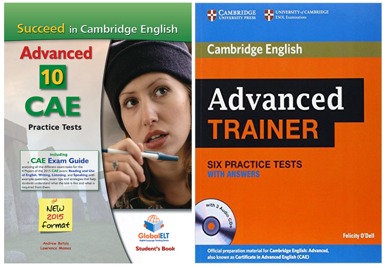 CAE workshop practice tests books - covers