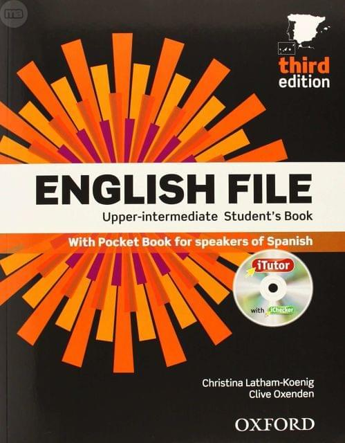 "Cover of the book ""English File Upper-intermediate"""